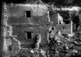 Center of Spruce Tree House, east end, Mesa Verde