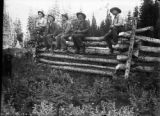 Group of western pioneers, Miners Basin