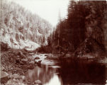 Eagle River Canon. Glenwood Extension D.& R.G.R.R.