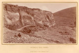 Hydraulic gold mining, Alder gulch, near Virginia City