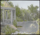 Pond and gazebo at Reed mansion
