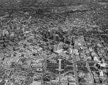 Aerial view of Denver