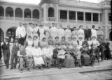 Fred Harvey House Barstow and employees
