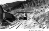 Entrance to Moffat Tunnel, East Portal, Colo.