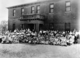 Edgewater, Colorado, school, all school year picture, 1920