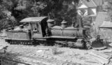 Nevada County narrow gauge locomotive, engine number 5, engine type 2-6-0