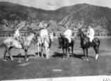 A family polo team at Glenwood Springs