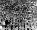 Aerial of 1933 Cherry Creek flood