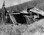 Old dwelling - one of two remaining in old Ghost Town