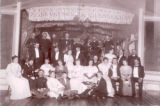 Post Hall audience and band, Fort Keogh