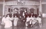 Cast and stage