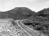 The railway at the end of Dump Mountain