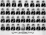 First graduating class G.E.D. Certificates June 1958