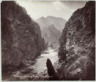 Black Canon of the Gunnison near Cimaron [sic], D.& R.G.Ry.