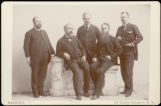 Horace Austin Warner Tabor and unidentified men