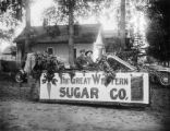 Great Western Sugar float