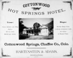 Cottonwood Hot Springs Hotel