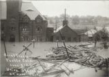 Great flood, Pueblo, Colo., June 3rd '21, Union Station