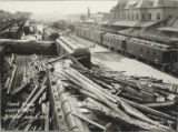 Flood scene, Union Depot, Pueblo, June 6-1921