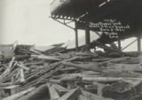 Union Depot yard under 2 man [i.e. main] viaduct, June 3, 1921, Pueblo, Colo.
