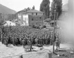 Troops learn of Final Victory, Torbole, Italy
