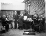 Ralph Hansen Band (outside Cooper home), Idaho Springs, Colorado