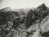 The Little Alps, near Government Wells [sic], on the Apache Trail