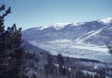 View of Camp Hale in the Pando Valley, Colorado