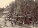 Silverton R.R., transfer of passengers