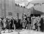 Ceremonies at completion of Moffat Tunnel