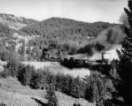 Scrap train, track removal, west side of Marshall Pass