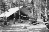 A camp in the wilds - Pike National Forest