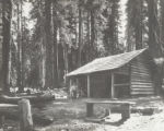 Log cabin, Giant Forest