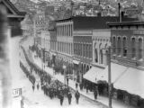 Central City 1890s. Funeral procession