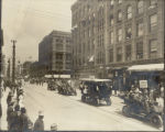 City employees parade on 16th Street, Denver