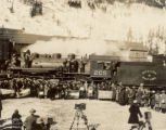Colorado pioneers attending Moffat Tunnel celebration