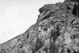 Profile Rock  (Old Man of the Mts Fall River)