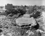 Scattered ruins at Hovenweep National Monument, Holly Group