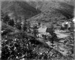 Cog road-P.P. and Manitou R.R. depot- Ruxton Canyon and Iron Springs Hotel