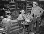 "The ""brain trust,"" the Van Vleet Arabian Ranch, Lazy V V Ranch Rick Ricketson,..."