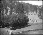 Picnic grounds, Dome Rock, Platte Cañon, C. & S. Ry.