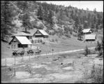 Summer cottages, Cascade on the Colo. Midland Ry.