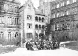 Group in front of German castle