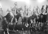 Native Americans on horseback