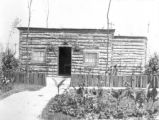 Major Burke's log cabin