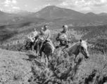 Heading up to the Divide of the Flattops from Spragues Doc Harry Gorman, President Rick Ricketson,...