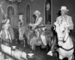 Riders in Teller House Bar