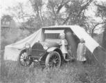 Automobile camping