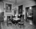 Dining room, Crawford Hill house