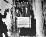 Students of School of Mines in training tunnel